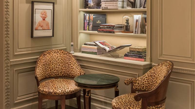 Leopard Chairs