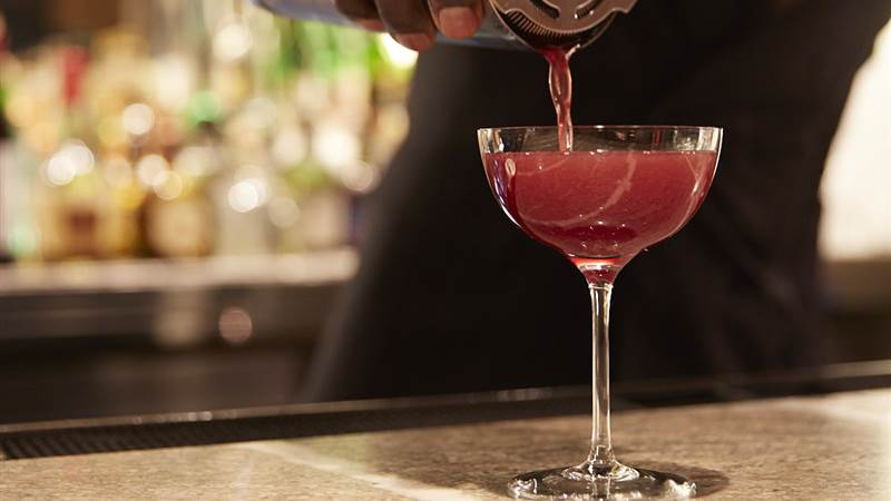 Jacques Bar is the place to sip Manhattan's best martinis