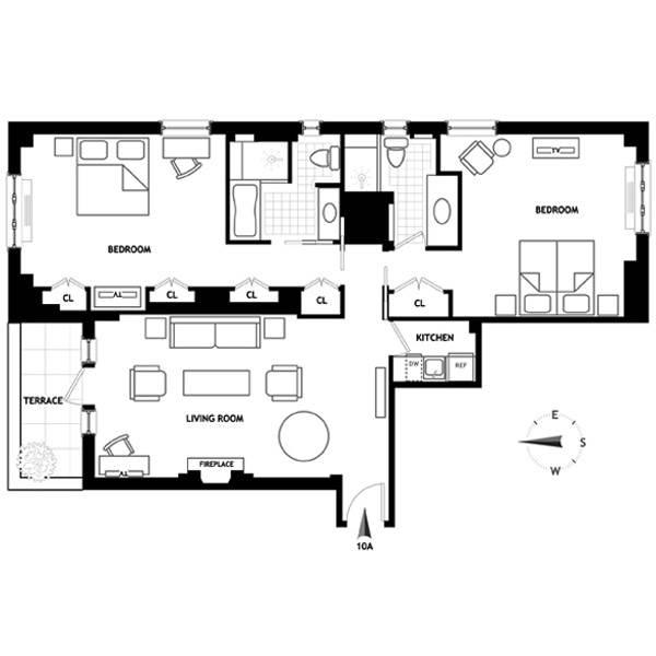 Two Bedroom Suite New York